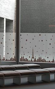 Christmas Window Sticker Contemporary , Art Deco 60cm*60cm
