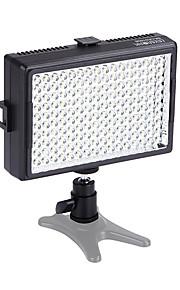 6000mcd 160pcs 5500K dimbaar kleur verstelbare led video licht fotografie lamp voor canon nikon pentax dslr camera