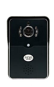 Trådløs - Telefon - One to One video Dørtelefonen ( 4 inch, Fotograferet / Optagelse )