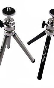ismartdigi ir-11-bk 2 laag (15cm hoog / laag 8 cm) 3-delige camera statief (zwart / zilver)
