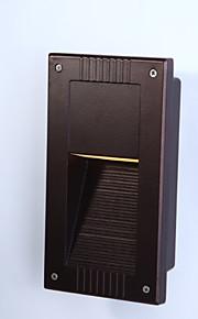 la lampe de coin carré conduit escalier extérieur extérieure imperméable sombre lumière lampe de mur de lumière LED