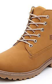 Men's Shoes Outdoor / Office & Career / Casual Suede Boots Black / Brown / Yellow