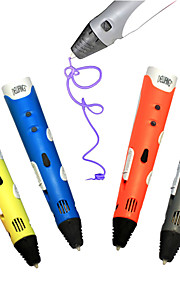High Quality Kids DIY 3D Printer Pen For Kids AU/US/UK/EU plug With ABS Filament 1.75mm