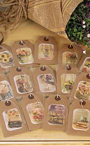 Non-personalized Wrap & Pocket Wedding Invitations 18 Piece/Set