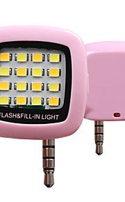 rk05 koude en warme verlichting telefoon sync flash (assorti kleur)