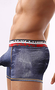 Manufacturers selling Vintage denim trousers wide band low male fashion U convex bag underwear