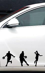 grappig slamdunk auto sticker autoraam muurstickers auto styling (1st)