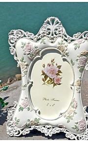 Cadre photo ( Argent , Moins de 10 ) - Thème floral / Thème classique