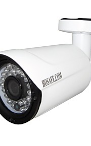 hosafe k2mb1wp 2MP 1080p ONVIF PoE udendørs ip kamera m / 36pcs førte, motion detection, nyhedsmail