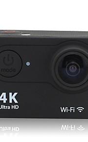 OEM H9 Sportskamera/GoPro Style-kamera 2 12MP 640 x 480 / 4608 x 3456 / 1920 x 1080 / 4032 x 3024 60fps / 30fps / 15fps Nej+1 / 2 / 0 /