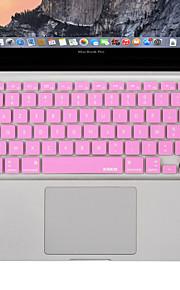 XSKN franse taal afdekking van het toetsenbord siliconen huid voor MacBook Air / MacBook Pro 13 15 17 inch VS / EU-versie