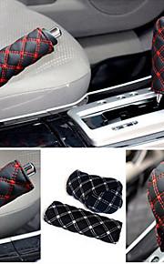 ziqiao handrem case&versnellingspook geval auto-interieur accessoire 2pcs / set