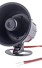 auto van vrachtwagen 6 toon luid alarm sirene hoorn 12v