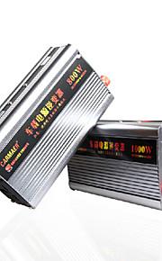 Carmaer Power Inverter 200W 12V24V to 220V with USB