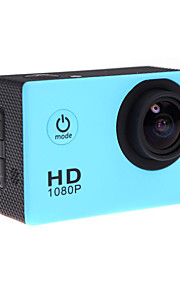 lnzee G400 Sportskamera/GoPro Style-kamera 1.5 12MP 640 x 480 / 1920 x 1080 / 1280x960 60fps Nej 2 CMOS 32 GB H.264Japansk / Engelsk /