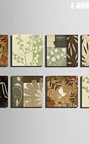 Botanisk Lerret Print Et panel Klar til å henge,Kvadrat