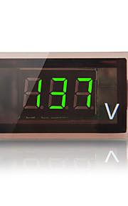 12v-24v auto truck digitale groene led voltmeter spanning panel gauge