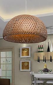 12W Vintage LED Autres Bois/Bambou Lustre Salle de séjour / Chambre à coucher