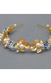 Dame Rhinestone / Legering Headpiece Bryllup Pannebånd Bryllup 1 Deler