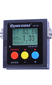 Surecom sw-102 125-525mhz digital VHF / UHF antenne power& SWR meter