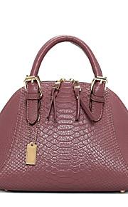 Розовый / Красный / Черный / Несколько цветов-Сумка на плечо / Сумка-шоппер-Для женщин-Полиуретан-Сумочка Багет