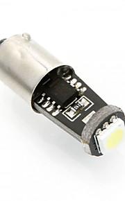 2 stuks nieuwe BA9S can-bus 0,5 W witte LED LED-zijmarkeringslicht, BA9S geleid leeslamp, kentekenplaatverlichting