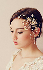 Dame Legering Headpiece Bryllup / Spesiell Leilighet Hårkammer Bryllup / Spesiell Leilighet 1 Deler