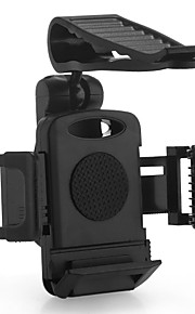 auto plastic zonneklep klem mount houder voor Apple mobiele telefoon gps zwart