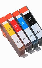 BLOOM®364BK/C/M/Y Compatible Ink Cartridge For HP C5324/C5393/D5468/D7560/5514/5520/3520/3524 Full Ink(4 color 1 set)