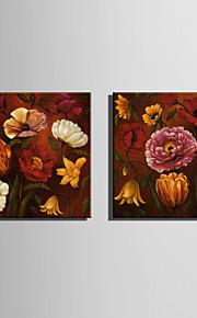 ミニサイズの電子ホーム油絵現代の花は、純粋な手は縁なしの装飾画を描く咲きます