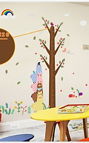 Three Alpacas Design Height Of Child Room Wall Stickers On The Wall Stick Mobile Household Wall Stick On The Wall