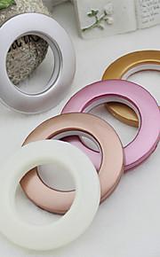 1pc hohe Qualität 5 Farben Dekoration Gardinenzubehör Plastikringe Ösen für Vorhänge