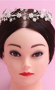 hot tyyli portit kuin morsiamen kruunu Euroopassa ja Yhdysvalloissa renkaan naisten helmi panta hiukset bändi