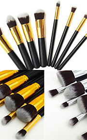 8pcs Brush Sets Synthetisch haar Gezicht / Lip / Oog