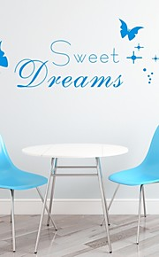 AYA™ DIY Wall Stickers Wall Decals,  Sweet Dream English Words & Quotes PVC Wall Stickers