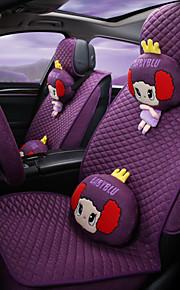 el nuevo toldo de lino envolvente asiento del coche en verano, cuatro almohadilla de GM, hermosa mujer de dibujos animados y un cojín de