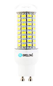 Ampoules Maïs LED Blanc Chaud / Blanc Froid 1 pièce T GU10 18W 89 SMD 5730 1800 lm AC 100-240 V