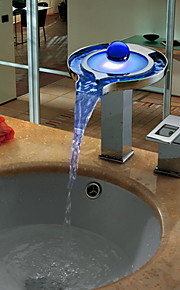 Udspredt Enkelt håndtak To Huller in Krom Bathroom sink tappekran