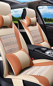 rodeado de cojín del asiento de coche del verano, fundas de cojines de cuero general de cuatro almohadilla del asiento 5