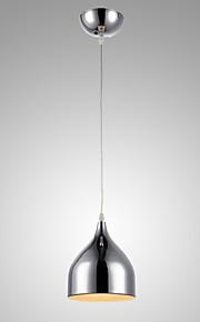 MAX60W Moderni Minityyli / Candle Style Galvanoitu Metalli Riipus valot Living Room / Makuuhuone / Kitchen