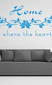 AYA™ DIY Wall Stickers Wall Decals, Home English Words & Quotes PVC Wall Stickers