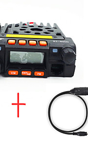 Hytera KT-8900+Cable Walkie-talkie VHF 25Watt, UHF 20Watt 200 400-470MHz / 136-174MHz It's a car radio , no battery , have car charger