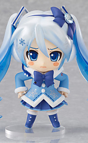 Vokaloid Snow Miku PVC One Size Anime Action Figurer Modell Leker Doll Toy