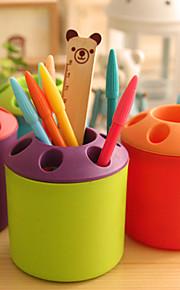 מחזיקי עטים וקופסאות-פלסטיק-Cute / עסקים / מדפסות משולבות