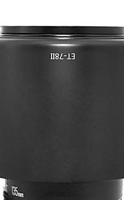 newyi® et-78ii modlysblænde skygge for Canon EF 135mm f / 2L USM 180mm f / 3.5L Macro USM (et-78 ii)