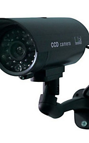 thuis surveillance security outdoor waterdichte LED knippert ir simulatie camera