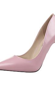 Chaussures Femme-Bureau & Travail / Décontracté-Noir / Bleu / Marron / Rose / Argent / Amande-Talon Aiguille-Talons / Bout Pointu / Bout