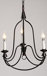 MAX 40W Retro Mini Estilo Pintura Metal Lámparas ColgantesSala de estar / Dormitorio / Comedor / Habitación de estudio/Oficina / Sala de