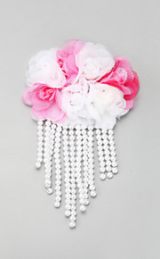 Women's / Flower Girl's Lace / Alloy / Imitation Pearl Headpiece-Wedding / Special Occasion Hair Clip 1 Piece