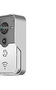 Draadloos - Telefoon - One to One video deurintercom Gefotografeerd/Opname/Meergezins video deurbel)